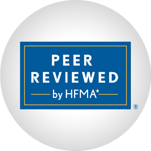 HFMA Peer Reviewed Logo