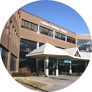 Picture of the entrance to LMH Health